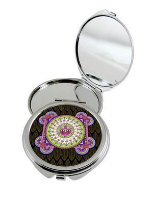 Kolorobia Splendid Warli Compact Mirror
