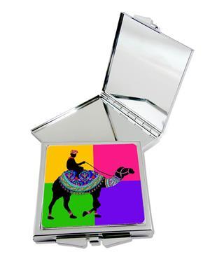 Kolorobia Vivid Camel Compact Mirror