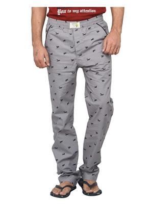 Clickroo CPTF0158M Grey Sports & Trackwear