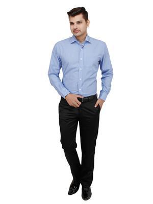 Zodiac CRC25 Blue Men Formal Shirt