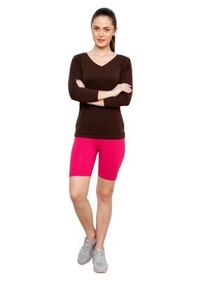 Softrose CS01M Magenta Women Shorts