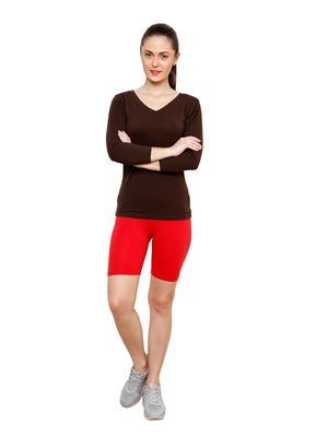 Softrose CS02CR Multicolored Women Shorts Combo of 2