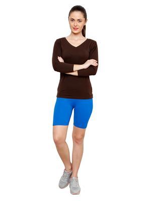 Softrose CS02FMR Multicolored Women Shorts Combo of 2