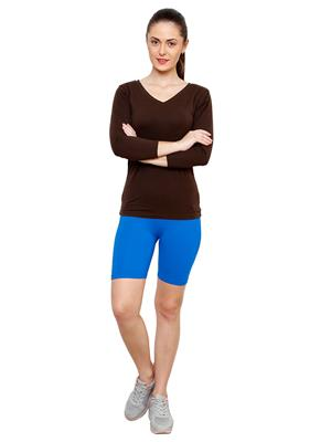 Softrose CS02FRB Multicolored Women Shorts Combo of 2