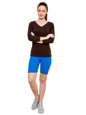 Softrose CS02FS Multicolored Women Shorts Combo of 2