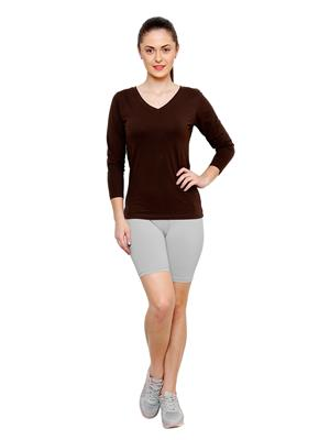Softrose CS02GRP Multicolored Women Shorts Combo of 2