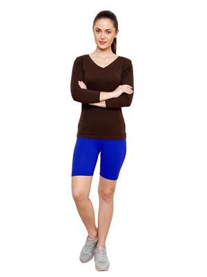 Softrose CS02GRRB Multicolored Women Shorts Combo of 2