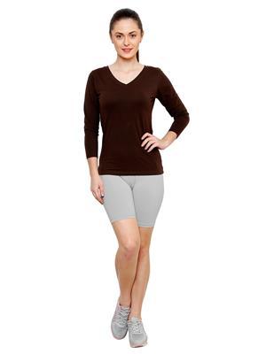 Softrose CS02GRS Multicolored Women Shorts Combo of 2