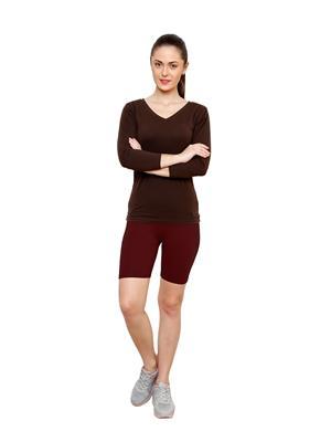 Softrose CS02MRS Multicolored Women Shorts Combo of 2