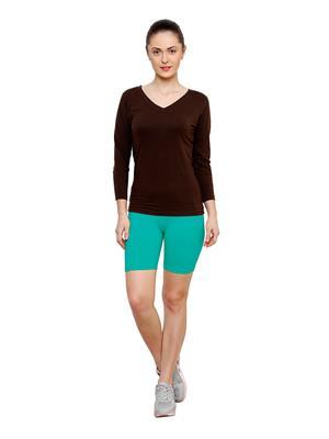 Softrose CS02PRRG Multicolored Women Shorts Combo of 2