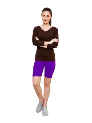 Softrose CS02PRS Multicolored Women Shorts Combo of 2
