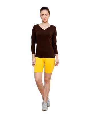 Softrose CS02PY Multicolored Women Shorts Combo of 2