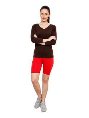 Softrose CS02RS Multicolored Women Shorts Combo of 2