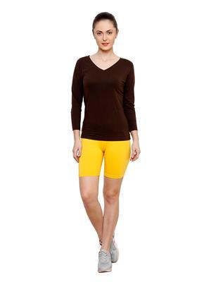 Softrose CS02RY Multicolored Women Shorts Combo of 2