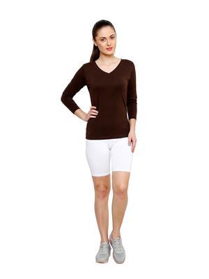 Softrose CS03BWS Multicolored Women Shorts Combo of 3
