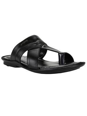 Cefiro CSP0016 Black Men Slipper