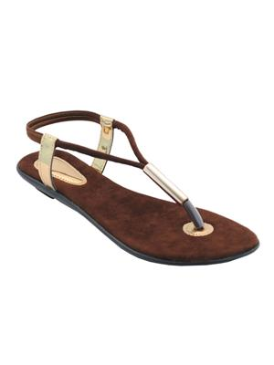 Clever Steps Cs-35-Brown Women Sandal