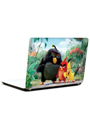 Pics And You CT010 Angry Birds Cartoon Themed 10 3M/Avery Vinyl Laptop Skin Decal