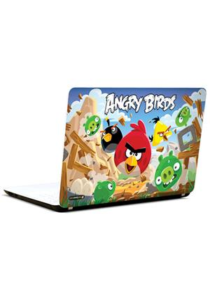 Pics And You CT016 Angry Birds Cartoon Themed 16 3M/Avery Vinyl Laptop Skin Decal