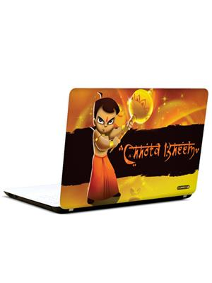 Pics And You CT020 Chhota Bheem Cartoon Themed 20 3M/Avery Vinyl Laptop Skin Decal