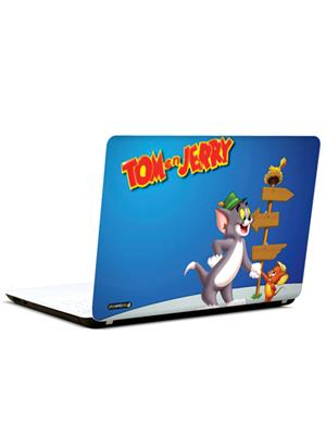 Pics And You CT215 Tom And Jerry Cartoon Themed 215 3M/Avery Vinyl Laptop Skin Decal