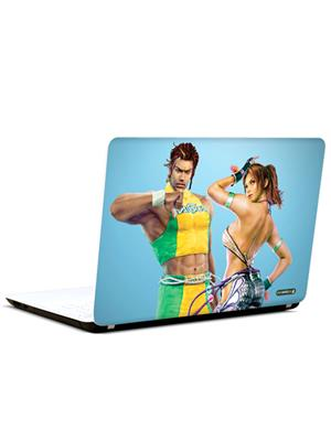 Pics And You CT373 Tekken Cartoon Themed 373 3M/Avery Vinyl Laptop Skin Decal