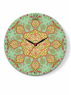 Kolorobia CTMGL12 Majestic Mughal Glass Clock