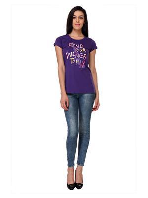 Rose Taylor Ctop2207 Blue Women T-Shirt