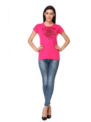 Rose Taylor Ctop2212 Pink Women T-Shirt