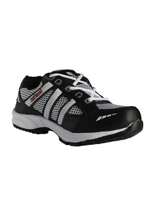 Bostan Classic-Blkwht Black Men Running Shoes