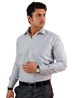 Western Closet WC06 Black Men Formal Shirt