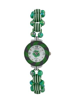 Fashion Brand Cm35 Green Women Analog Watch