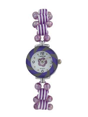 Fashion Brand Cm37 Purple Women Analog Watch