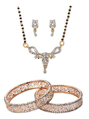 The Luxor 2180 Multicolored Women Jewellery Set Combo Pack