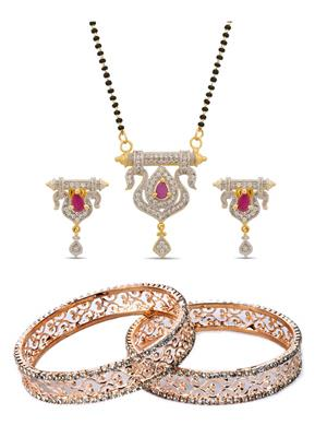 The Luxor 2181 Multicolored Women Jewellery Set Combo Pack