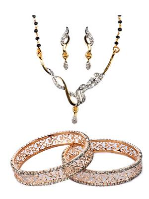 The Luxor 2187 Multicolored Women Jewellery Set Combo Pack