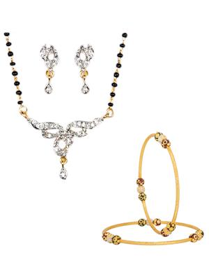 The Luxor 2189 Multicolored Women Jewellery Set Combo Pack