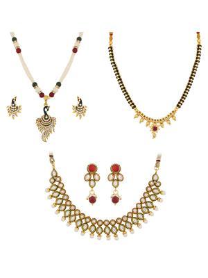 The Luxor 2252 Multicolored Women Jewellery Sets