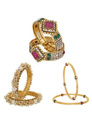 The Luxor 2261 Multicolored Women Jewellery Sets
