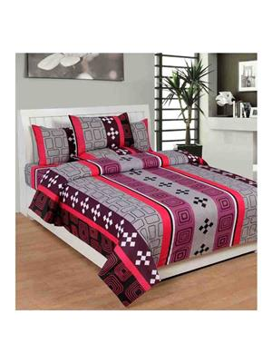 GANPATI TRADERS Cotton-4 Multicolored Bedsheet