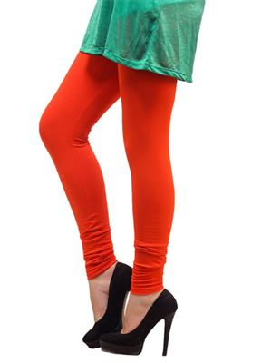 Cotton Comfort CC04 Orange Women Leggings