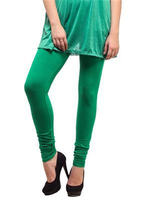 Cotton Comfort CC12 Green Women Leggings