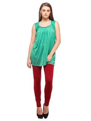 Cotton Comfort CC13 Maroon Women Leggings