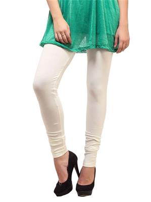 Cotton Comfort CC14 Cream Women Leggings