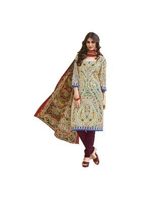 Fashion Vila Creation-22 Multicolored Women Dress Material