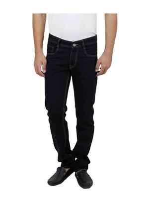 Trendy Bandey D-35 Black Men Jeans