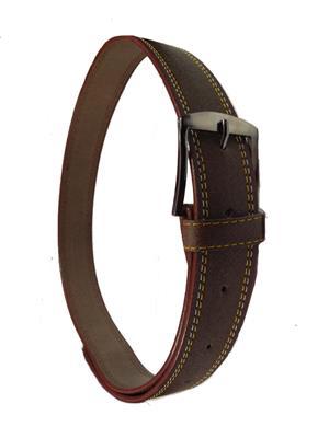 Ansh Fashion Wear D-BRN-A Brown Men Belt