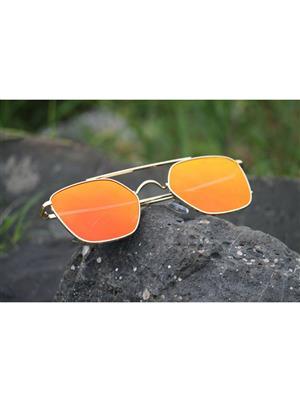 Destiny D082 Orange  Unisex Sunglasses