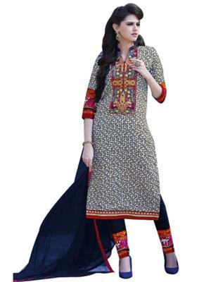 Dhruvkumar and sons D14  Multicolored  women dress materials