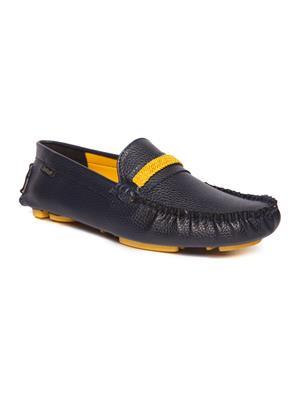 DA MOCHI DAMO1526 Blue/Yellow Loafers